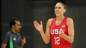Diana Taurasi comandou os EUA em mais uma vitória