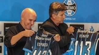Valdir Espinosa e Renato Gaúcho voltaram ao Grêmio em 2016
