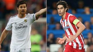 No meio-campo, a menos diferença. Tiago (Atlético) bate Xabi Alonso por 0,1 ponto: 6,1 contra 6