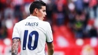 b1f8eafd765cf Real Madrid escolhe sucessor da camisa 10 de James  veja quem ficou com ela  e a numeração completa