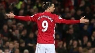 Zlatan Ibrahimovic marcou gol de empate do Manchester United contra o Everton