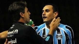 Renato Gaúcho e Rafael Marques