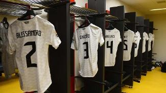 Vestiário do Corinthians tinha camisas já preparadas