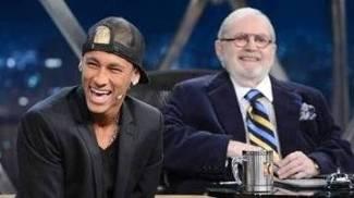 Neymar Programa do Jô Soares