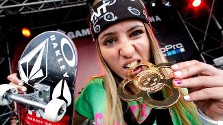 Letícia Bufoni já ganhou três medalhas de ouro nos X Games
