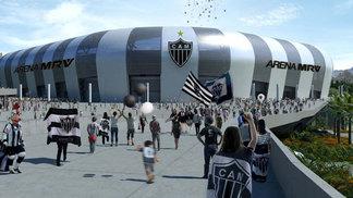 Projeto do estádio do Atlético-MG que será apresentado aos conselheiros