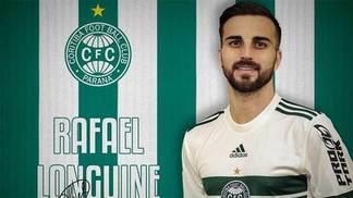 Coritiba confirmou as chegadas de Rafael Longuine e Cleber, ex-Santos
