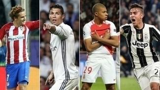 Semifinais da Champions será entre vizinhos com Atlético x Real e Monaco x Juventus