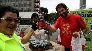Aro Meia Zero e o Bike Café