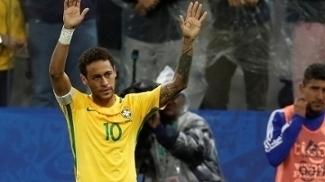 Neymar, em ação pela seleção brasileira nas eliminatórias para a Copa do Mundo