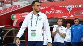 Guilherme é o terceiro goleiro da seleção russa