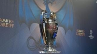 Taça da Liga dos Campeões da Europa no sorteio das quartas de final