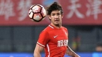Pato marcou seu primeiro gol no Campeonato Chinês neste sábado