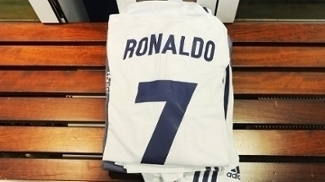 Cristiano Ronaldo Camisa Vestiario Real Madrid Final Champions 02/06/2017