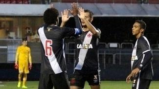Bruno Cosendey marcou um dos gols do Vasco sub-20 no Morumbi