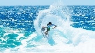Gabriel Medina está nas quartas de final da primeira etapa do Mundial de surfe