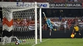 Gol do São Paulo contra o São Bento, no Morumbi, pelo Paulista
