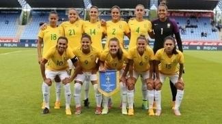 Marta foi a estrela do amistoso internacional contra a Islândia