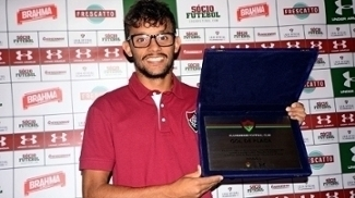 Gustavo Scarpa Placa Gol Fluminense Copa do Brasil 20/02/2017