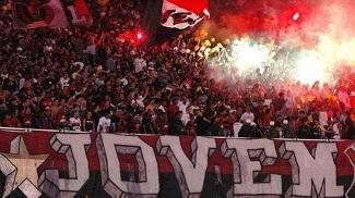 Torcida Jovem do Flamengo foi suspensa por seis meses dos estádios