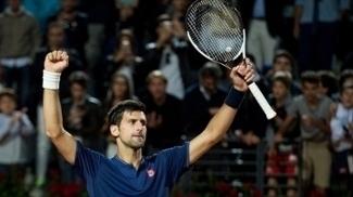 Djokovic venceu segundo jogo no dia em Roma