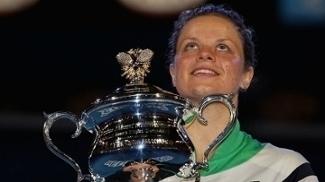 Kim Clijsters foi campeã do Australian Open em 2011