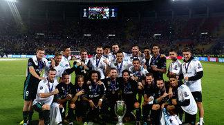 Real Madrid levou a Supercopa da Europa