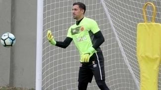 Martín Silva participa de treinamento no Vasco