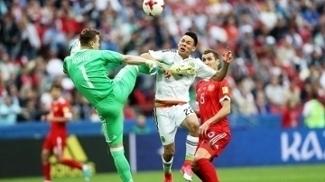 Lozano Gol Mexico Russia Copa das Confederacoes 24/06/2017