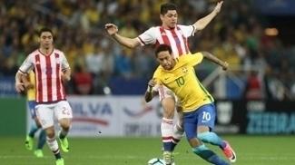 Multa se deu por conta dos gritos durante Brasil x Paraguai