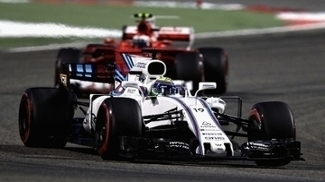 Felipe Massa pilota a Williams no GP do Bahrein