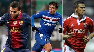 Daniel Alves, Eder e Lima - Quem foi o melhor brasileiro do futebol internacional na última semana?