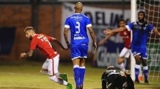 Nico López comemora gol do Inter