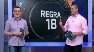 Administrar o jogo: Sálvio e Calçade explicam a 'Regra 18', que não está no manual de arbitragem