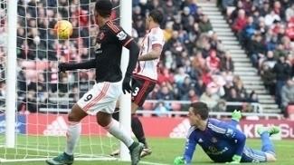 Martial, com um toque por cima do goleiro, anotou o gol do United