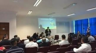 Reunião da diretoria da Liga Paulista com os clubes participantes