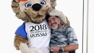Diego Maradona quer se encontrar com Vladimir Putin