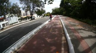 Ciclovia em Aracaju, Sergipe.