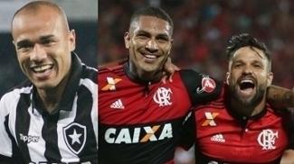 Roger, Guerrero e Diego: os melhores da nona rodada do Brasileirão