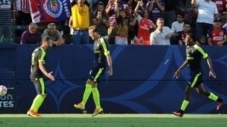 Arsenal bateu o Chivas por 3 a 1, neste domingo