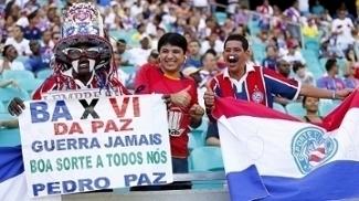 Torcedor pede paz no estádio, mas assistirá BaVi sem torcedor rival do outro lado da arquibancada
