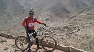 Cicloturismo no Peru