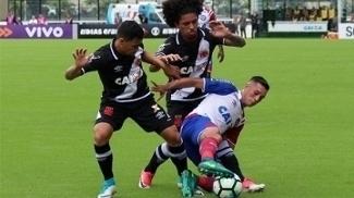 Bahia jogou com time alternativo e perdeu para o Vasco em São Januário