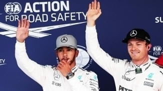Lewis Hamilton e Nico Rosberg eram companheiros na Mercedes até 2016