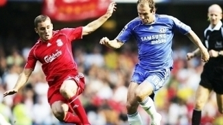 Fabio Aurelio Liverpool Robben Chelsea Premier League 17/09/2006