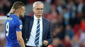 Vardy disse ter recebido ameaças de morte pela demissão de Ranieri