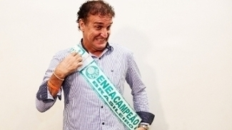 Cuca Faixa Campeão Palmeiras 06/12/2016