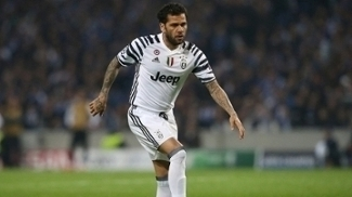 Daniel Alves chegou à Juve no início da atual temporada