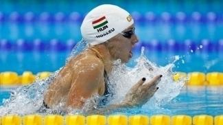 Húngara competiu em casa