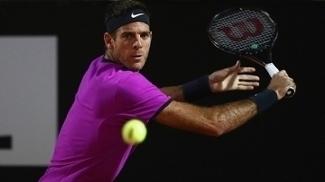 Por dores, Del Potro pode não participar de Roland Garros